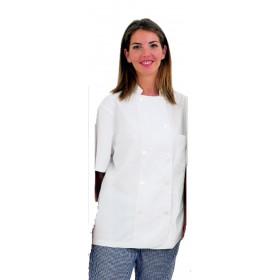 Chaqueta Cocina M/C corchetes