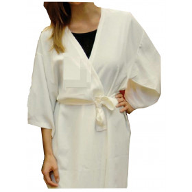 Kimono Marfil
