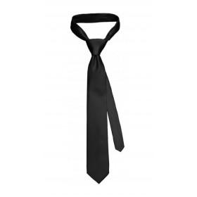 Corbata Satén negra