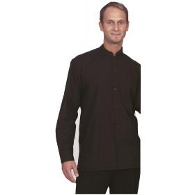 Camisa Bali M/Larga negra