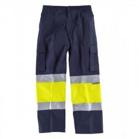 Pantalon Fluor Reflectante