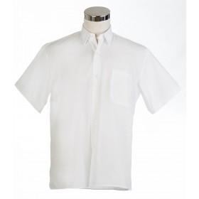 Camisa manga corta blanca...