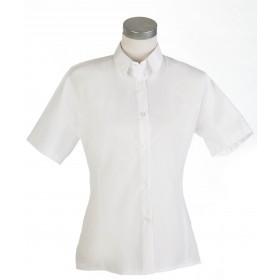 Camisa Srta. M/Corta blanca