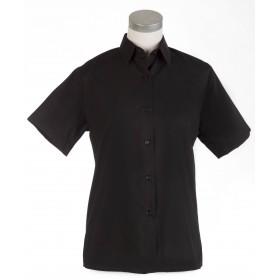 Camisa manga corta negra srta.