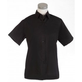 Camisa M/corta negra srta.