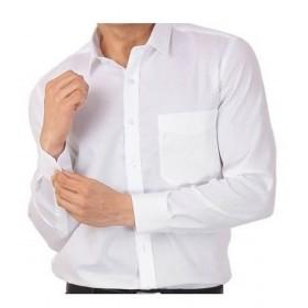 Camisa M/L Cbllo. Blanca