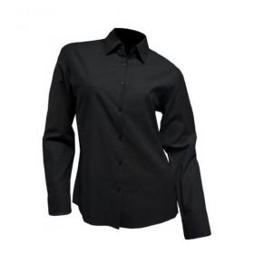 Camisa M/Larga Srta. Negra