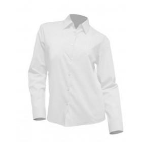 Camisa M/Larga Srta. Blanca