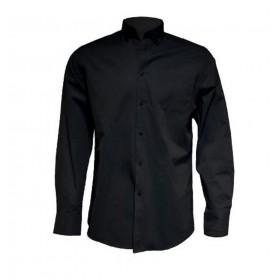 Camisa M/Larga Cbllo. Negra