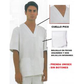 Blusón Pijama Cuello Pico